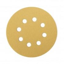 Gold csiszolókorong D125 8 furatos